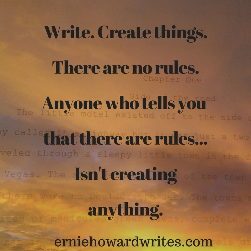 Write, Create, Show Up